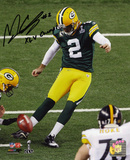 Mason CroSuper Bowly Green Bay Packers with XLV Champs  Autographed Photo (Hand Signed Collectable)