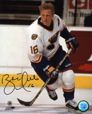 Brett Hull St Louis Blues Autographed Photo (Hand Signed Collectable)