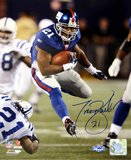 Tiki Barber Run vs Colts Vertical Photo