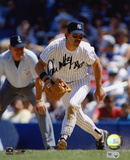 Don Mattingly New York Yankees Fielding Autographed Photo (Hand Signed Collectable)