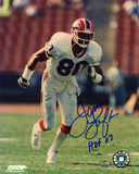 James Lofton Buffalo Bills with HOF 03 Inscription Autographed Photo (Hand Signed Collectable)