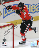 Ben Eager Chicago Blackhawks Autographed Photo (Hand Signed Collectable)