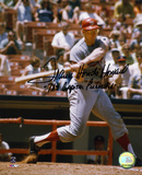 Frank Howard Washington Nationals with Capital Punisher Autographed Photo (Hand Signed Collectable)