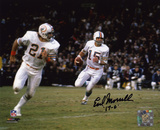 Earl Morrall Miami Dolphins with 17-0 Inscription Autographed Photo (Hand Signed Collectable)