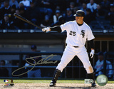 Jim Thome Chicago White Sox -Pointing Bat Autographed Photo (Hand Signed Collectable)