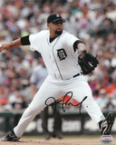 Joel Zumaya Detroit Tigers Autographed Photo (Hand Signed Collectable)