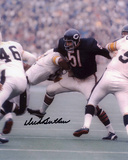 Dick Butkus Chicago Bears - vs Steelers Autographed Photo (Hand Signed Collectable)