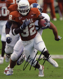 Cedric Benson Texas Longhorns Autographed Photo (Hand Signed Collectable)