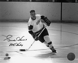 Gordie Howe Detroit Red Wings with Mr Hockey  Autographed Photo (Hand Signed Collectable)