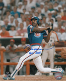 Andre Dawson Chicago Cubs with HOF 2010 Inscription