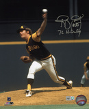 Randy Jones San Diego Padres with 76 NL CY Inscription