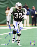 Leon Johnson New York Jets Autographed Photo (Hand Signed Collectable)