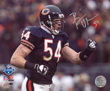 Brian Urlacher Chicago Bears - Fist Pump Autographed Photo (Hand Signed Collectable)