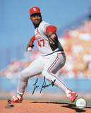 Lee Smith St Louis Cardinals Autographed Photo (Hand Signed Collectable)