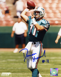 Damon Huard Miami Dolphins Autographed Photo (Hand Signed Collectable)