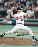 Jack Morris Minnesota Twins Autographed Photo (Hand Signed Collectable)