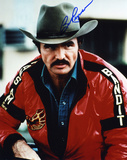 """Burt Reynolds Bo """"B&it"""" Darville Smokey & the B&it Autographed Movie Photo (H& Signed Collectable)"""
