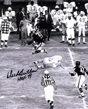 Dick Butkus Chicago Bears -Jump- with HOF 79  Autographed Photo (Hand Signed Collectable)
