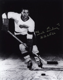 """Ted Lindsay Detroit Red Wings with """"HHOF 66""""  Autographed Photo (Hand Signed Collectable)"""