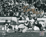 Fred Biletnikoff Oakland Raiders with Super Bowl XI MVP Autographed Photo (Hand Signed Collectable)