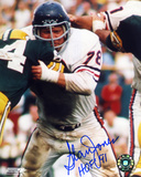 Stan Jones Chicago Bears - Action with HOF 91  Autographed Photo (Hand Signed Collectable)