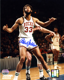 Kareem Abdul-Jabbar Milwaukee Bucks Autographed Photo (Hand Signed Collectable)
