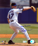 Tom Glavine New York Mets with Happy Brithday  Autographed Photo (Hand Signed Collectable)