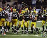 John Kuhn Green Bay Packers Super Bowl XLV Champions Autographed Photo (Hand Signed Collectable)