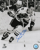 Pierre Pilote Chicago Blackhawks Autographed Photo (Hand Signed Collectable)