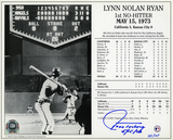 Nolan Ryan No-Hitter Collection w/7 Catchers Autographed Photo (Hand Signed Collectable)