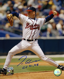 Tom Glavine Atlanta Braves with CY 1991 and 1998  Autographed Photo (Hand Signed Collectable)