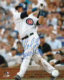 """Geovany Soto Chicago Cubs with Inscription """"ROY 08"""" Autographed Photo (Hand Signed Collectable)"""