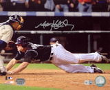 Matt Holliday Colorado Rockies - Homeplate Slide Autographed Photo (Hand Signed Collectable)