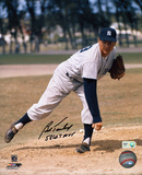 Bob Turley with: 58 WS MVP Inscription Autographed Photo (Hand Signed Collectable)
