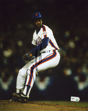 "Dwight ""Doc"" Gooden New York Mets - On the Mound Autographed Photo (Hand Signed Collectable)"