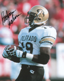 Rashaan Salaam Colorado Buffaloes Autographed Photo (Hand Signed Collectable)
