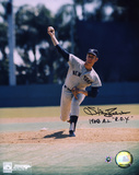 Stan Bahnsen New York Yankees with 1968 AL ROY  Autographed Photo (Hand Signed Collectable)