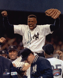 "Dwight ""Doc"" Gooden New York Yankees - On Shoulders Autographed Photo (Hand Signed Collectable)"