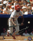 Vince Coleman St Louis Cardinals Autographed Photo (Hand Signed Collectable)