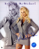 Debra McMichael WWE Autographed Photo (Hand Signed Collectable)