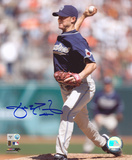 Jake Peavy San Diego Padres Autographed Photo (Hand Signed Collectable)