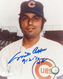 "Milt Pappas Chicago Cubs w/ Inscription ""NH 9-2-72"" Autographed Photo (Hand Signed Collectable)"