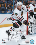 Adrian Aucoin Chicago Blackhawks Autographed Photo (Hand Signed Collectable)
