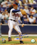 Tom Glavine Atlanta Braves with 1995 World Series MVP  Autographed Photo (Hand Signed Collectable)