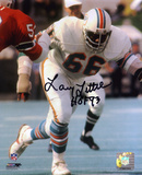 Larry Little Miami Dolphins with HOF 93 Inscription Autographed Photo (Hand Signed Collectable)