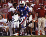 Reggie Nelson Florida Gators Interception Return Autographed Photo (Hand Signed Collectable)