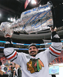 Brent Sopel Chicago Blackhawks 2010 Stanley Cup Champs Autographed Photo (Hand Signed Collectable)