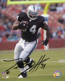 LaMont Jordan Oakland Raiders Autographed Photo (Hand Signed Collectable)