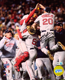 Kevin Youkilis Boston Red Sox 2007 World Series Champs Autographed Photo (Hand Signed Collectable)