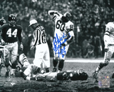 Chuck Bednarik Philadelphia Eagles with HOF 67  Autographed Photo (Hand Signed Collectable)